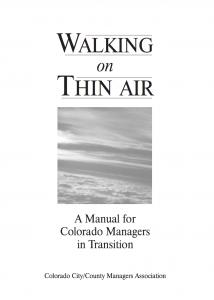 Walking on Thin Air